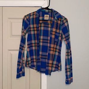 Hollister Women's Plaid Shirt